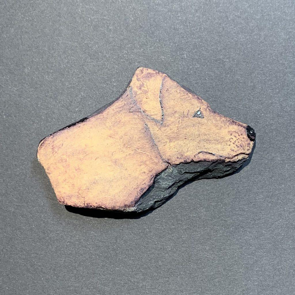 DUD-STEINE - Hunde auf Stein Labrador