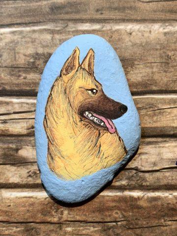 DUD-STEINE - Hunde auf Stein